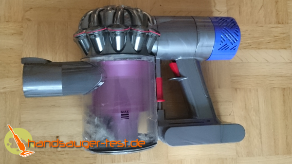 dyson v6 absolute handstaubsauger im test. Black Bedroom Furniture Sets. Home Design Ideas